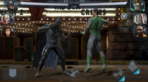 mobile game 2018 injustice 2